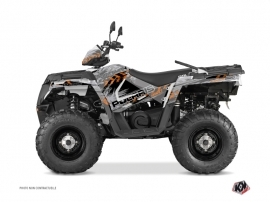 Polaris 570 Sportsman Touring ATV Lifter Graphic Kit Grey