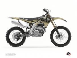 Kawasaki 450 KXF Dirt Bike Live Graphic Kit Sand