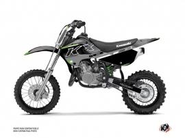 Kawasaki 65 KX Dirt Bike Live Graphic Kit Grey