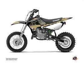 Kawasaki 65 KX Dirt Bike Live Graphic Kit Sand