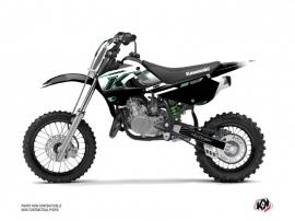 Kawasaki 65 KX Dirt Bike Live Graphic Kit Turquoise