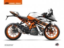 KTM 390 RC Street Bike Mass Graphic Kit Orange
