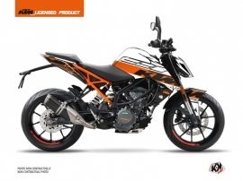 Kit Déco Moto Mass KTM Duke 390 Orange