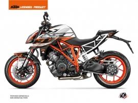 KTM Super Duke 1290 Street Bike Mass Graphic Kit Orange