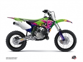Kawasaki 110 KLX Dirt Bike Memories Graphic Kit