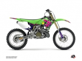 Kawasaki 125 KX Dirt Bike Memories Graphic Kit