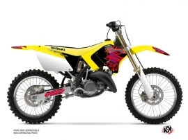 Suzuki 125 RM Dirt Bike Memories Graphic Kit