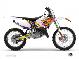 Yamaha 250 YZ Dirt Bike Memories Graphic Kit