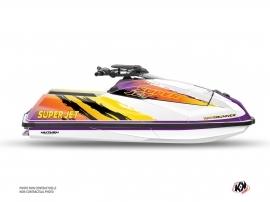 Yamaha Superjet 2021 Jet-Ski Memories Graphic Kit