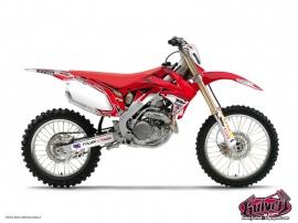 Honda 450 CRF Dirt Bike Replica Team Pichon Graphic Kit 2011