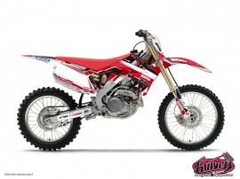 Honda 450 CRF Dirt Bike Replica Team Pichon Graphic Kit 2012