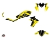 Kawasaki ER 6N Street Bike Airline Graphic Kit Yellow