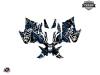 Yamaha Sidewinder Snowmobile Aztek Graphic Kit Grey Blue