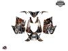 Kit Déco Motoneige Aztek Arctic Cat Thundercat Gris Orange