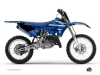 Yamaha 125 YZ Dirt Bike Basik Graphic Kit Blue