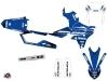 Kit graphique Moto Cross Basik Yamaha 250 WRF Bleu