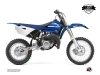 Yamaha 85 YZ Dirt Bike Basik Graphic Kit Blue LIGHT