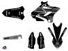 Kit Déco Moto Cross Black Matte Yamaha 250 YZ Noir LIGHT