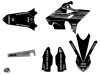 Kit Deco Dirt Bike Black Matte Yamaha 250 YZ RTECH Revolution Black LIGHT