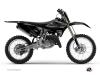 Kit Deco Dirt Bike Black Matte Yamaha 250 YZ UFO Relift Black