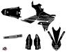 Yamaha 450 YZF Dirt Bike Black Matte Graphic Kit Black LIGHT