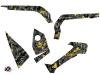 Can Am Outlander 1000 ATV Camo Graphic Kit Black Yellow