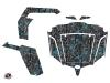 CF Moto Z Force 1000 UTV Camo Graphic Kit Black Blue