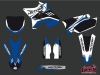 Yamaha 250 YZ Dirt Bike Chrono Graphic kit UFO Relift