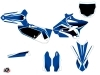 Yamaha 125 YZ Dirt Bike Concept Graphic Kit Blue