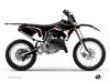 Kit Déco Moto Cross Concept Yamaha 125 YZ Rouge