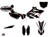 Yamaha 125 YZ Dirt Bike Concept Graphic Kit Red