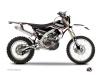 Yamaha 250 WRF Dirt Bike Concept Graphic Kit Red