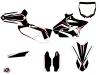 Kit Déco Moto Cross Concept Yamaha 250 YZ Rouge