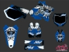 Yamaha 125 YZ Dirt Bike Demon Graphic Kit