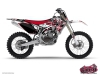 Yamaha 250 YZ Dirt Bike Demon Graphic Kit Red