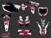 Yamaha 250 YZF Dirt Bike Demon Graphic Kit Red