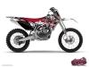 Kit Déco Moto Cross Demon Yamaha 85 YZ Rouge