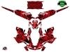 Kit Déco Motoneige Dizzee Skidoo Gen 4 Rouge