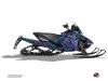 Arctic Cat Thundercat Snowmobile Dizzee Graphic Kit Purple
