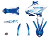 Kit Déco Moto Cross Eraser Yamaha 125 YZ Bleu LIGHT