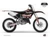 Yamaha 125 YZ Dirt Bike Eraser Graphic Kit Red White LIGHT
