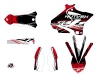 Yamaha 250 YZ Dirt Bike Eraser Graphic Kit Red White LIGHT