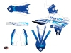 Yamaha 250 YZF Dirt Bike Eraser Graphic Kit Blue LIGHT