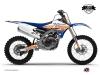 Yamaha 250 YZF Dirt Bike Eraser Graphic Kit Blue Orange LIGHT