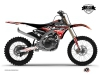 Yamaha 250 YZF Dirt Bike Eraser Graphic Kit Red White LIGHT