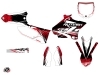 Yamaha 250 YZ Dirt Bike Eraser Graphic Kit Red White