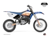 Kit Déco Moto Cross Eraser Yamaha 85 YZ Bleu Orange LIGHT