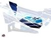 Graphic Kit Doors Low Dragonfire Eraser UTV Polaris RZR 900S/1000/Turbo 2015-2017 Blue