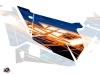 Graphic Kit Doors Origin Eraser UTV Polaris RZR 900S/1000/Turbo 2015-2017 Blue Orange