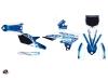 Yamaha 250 YZF Dirt Bike Eraser Graphic Kit Blue